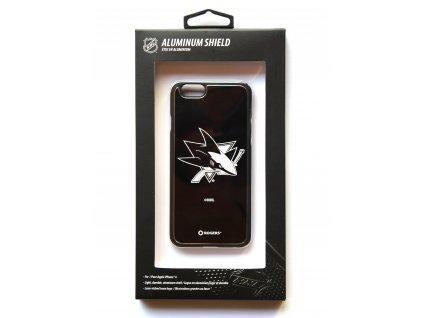 "NHL Aluminium Shield LGX-11558 pouzdro iPhone 6 / 6S (4,7"") San Jose Sharks"