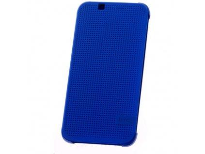 Pouzdro HTC HC M130 Dot View modré Desire 510