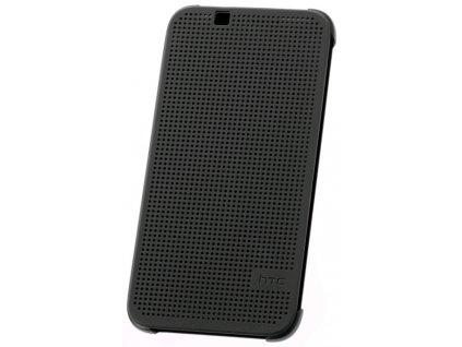 Pouzdro HTC HC M130 Dot View šedé Desire 510