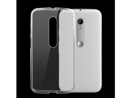 Pouzdro FITTY Ultra Tenké 0,3mm Motorola G3 transparentní