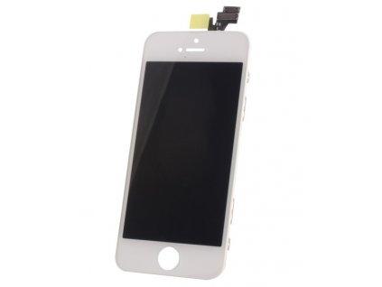 LCD displej + dotyková deska iPhone 5 (service pack) white - OEM NÁHRADNÍ DÍL