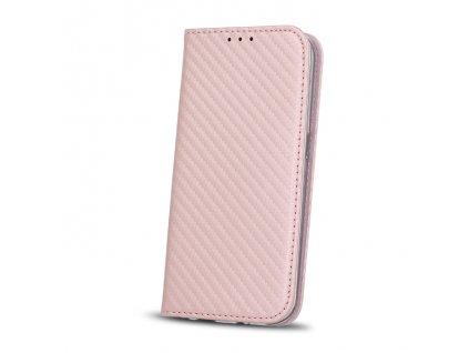 Pouzdro Smart Carbon Sony G3311, Xperia L1 růžové