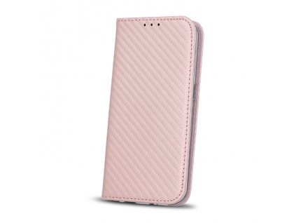 Pouzdro Smart Carbon Sony G3121, Xperia XA1 růžové