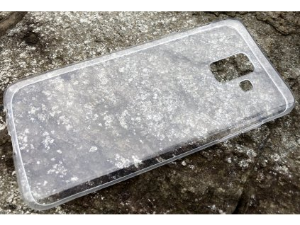 Pouzdro FITTY Ultra Tenké 0,3mm Samsung A600 Galaxy A6 2018 transparentní