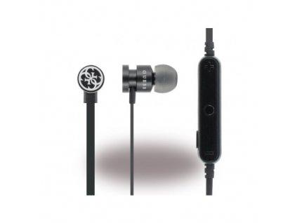 Guess GUEPBTBK Bluetooth stereo headset sluchátka černé