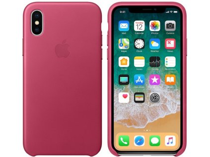 Apple MQTJ2ZM/A pouzdro iPhone X fuchsia pink