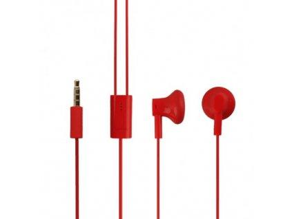 NOKIA WH-108 stereo headset red / červený (bulk)
