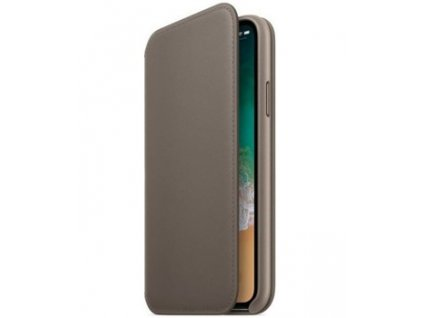 Apple MQRY2ZM/A flip pouzdro iPhone X , taupe