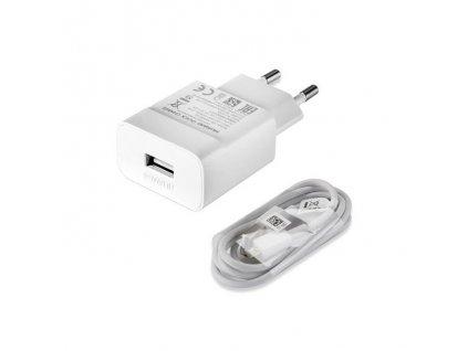 Huawei nabíječka HW-050200E01 + micro USB kabel bílá (bulk) 2A