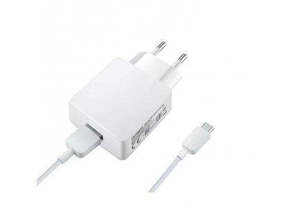 Huawei nabíječka HW-050200E3W + micro USB kabel bílá (bulk) 2A