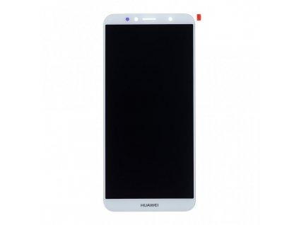 LCD displej + dotyková deska pro Huawei Y6 2018 bílá (OEM)