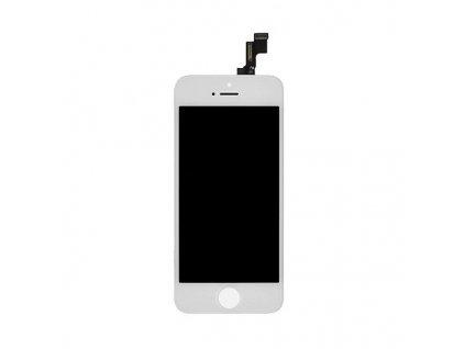 LCD displej + dotyková deska iPhone 5S (service pack) white - OEM NÁHRADNÍ DÍL