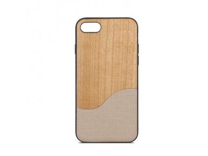Beeyo Wave pouzdro Apple iPhone 5/5S/SE béžové