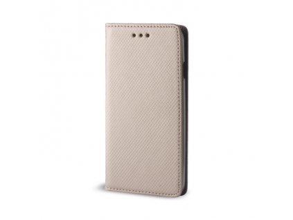 Pouzdro Smart Magnet pro Nokia 5.1 Plus zlaté