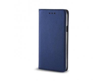 Pouzdro Smart Magnet pro Nokia 5.1 Plus modré