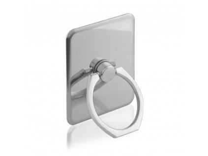 iRing držák telefonu na prst, opěrka stříbrný