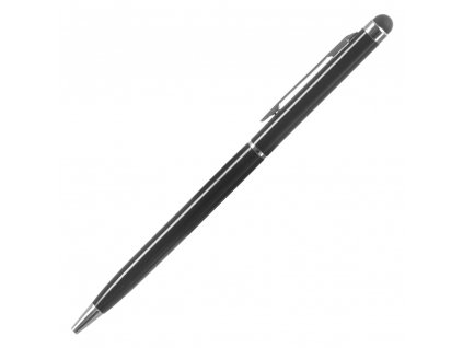 Kapacitní stylus + propiska 2v1 black / černý
