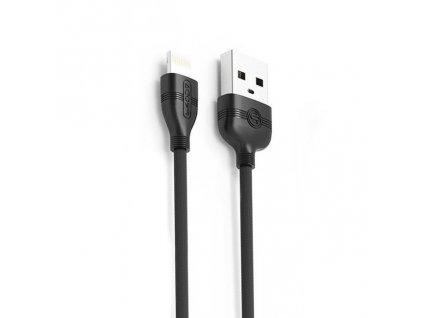 Proda Normee PD-B05i USB kabel pro iPhone 5/6/7/8/X černý 1,2m / 1A