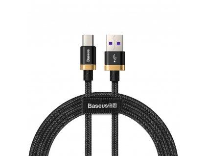 Baseus CATZH-AV1 USB kabel - Micro USB-C / QC 3.0 / 1m / 40W black