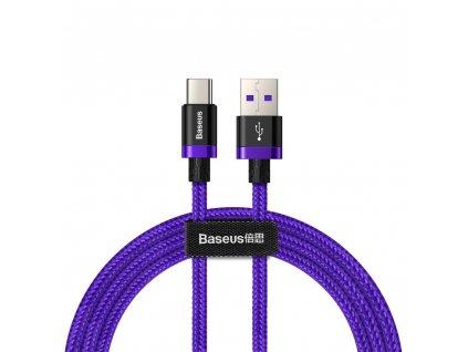 Baseus CATZH-A05 USB kabel - Micro USB-C / QC 3.0 / 1m / 40W purple
