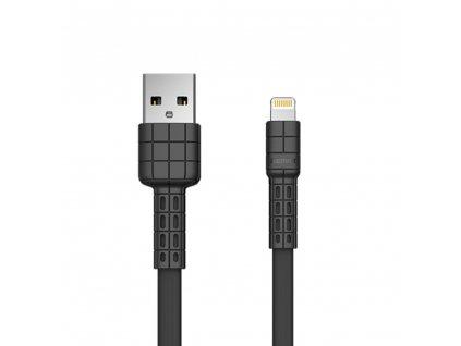 REMAX RC-116i Armor series USB datový / nabíjecí kabel iPhone Lightning černý 2,4A / 5V