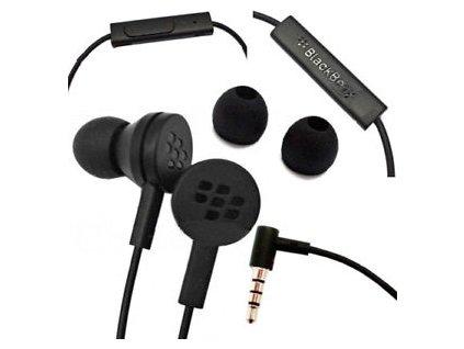 Blackberry WS-510 stereo headset sluchátka černé (bulk)