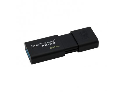 Kingston DT100G3 USB Flash disk 64GB černý