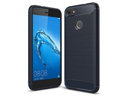 Pouzdro Carbon Case pro Huawei P9 Lite MINI modré