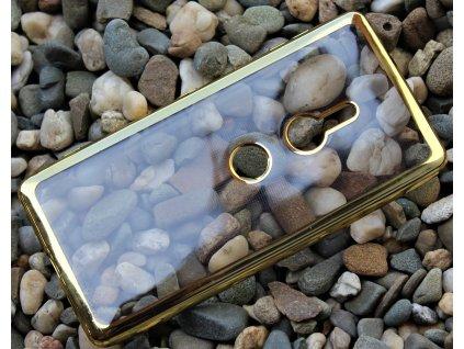 GLOSSY CASE pouzdro Sony Xperia XZ2 zlaté