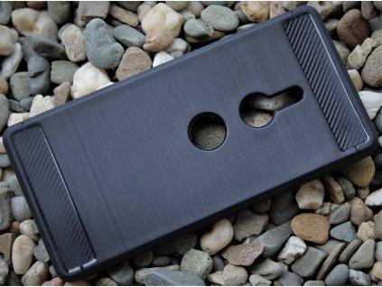 Pouzdro Carbon Case pro Sony Xperia XZ2 černé