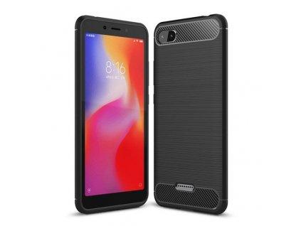 Pouzdro Carbon Case pro Xiaomi RedMi 6A černé