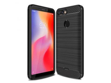 Pouzdro Carbon Case pro Xiaomi RedMi 6 černé