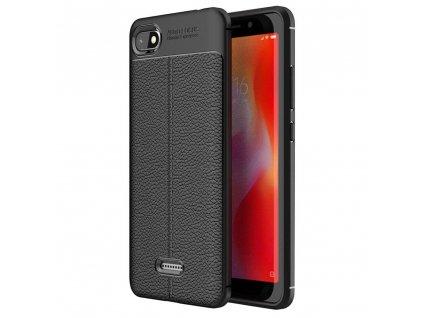 Pouzdro Litchi Case pro Xiaomi RedMi 6 PRO / Mi A2 Lite černé