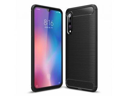 Pouzdro Carbon Case pro Xiaomi Mi 9 černé