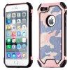 """ARMORO Case odolné pouzdro Apple iPhone 7 / 8 (4,7"""") camo pink / růžová maskáč"""