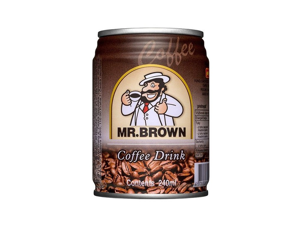 Mr.Brown Classic Plech 240ml