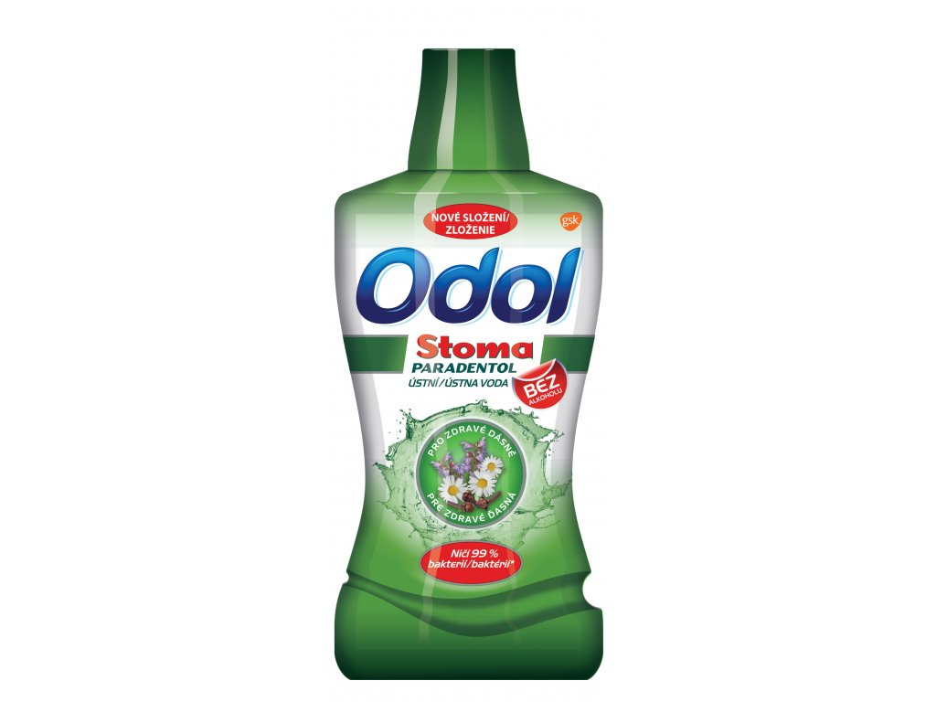 GL Odol Stoma Paradentol. UV 500ml