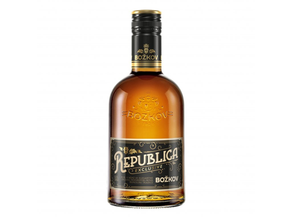Božkov Republica Exclusive (38%) 0,5 l