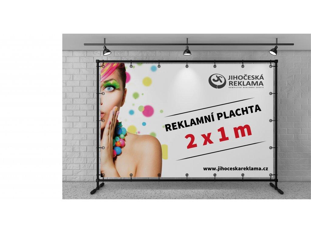 Reklamní plachty 2x1m