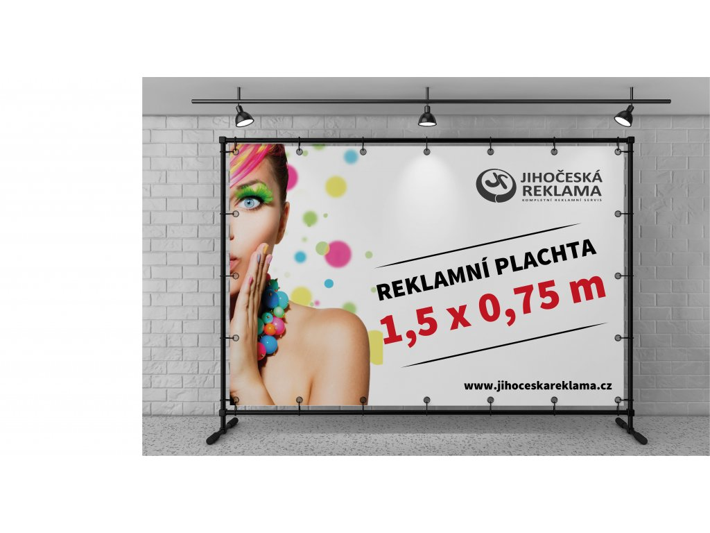 Reklamní plachty 150x75cm