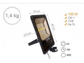 LED 150 W s čidlem 1