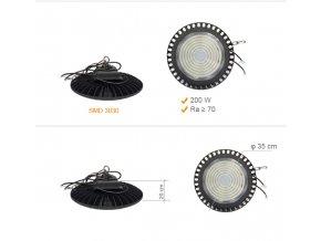 HI BAY UFO 200 W 1