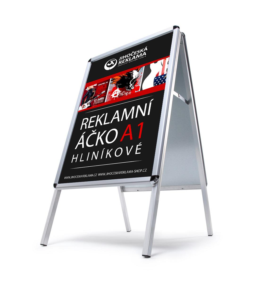 Jihočeská reklama Reklamní stojan - áčko A1