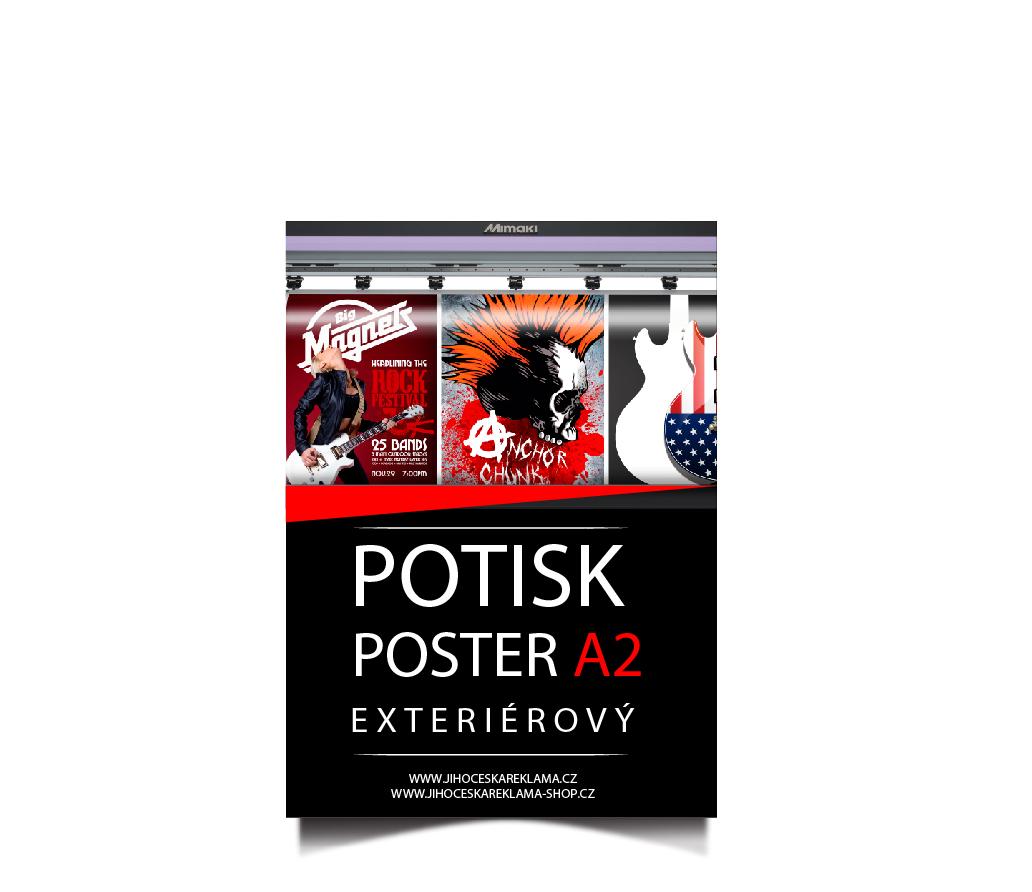 Poster A2 - potisk
