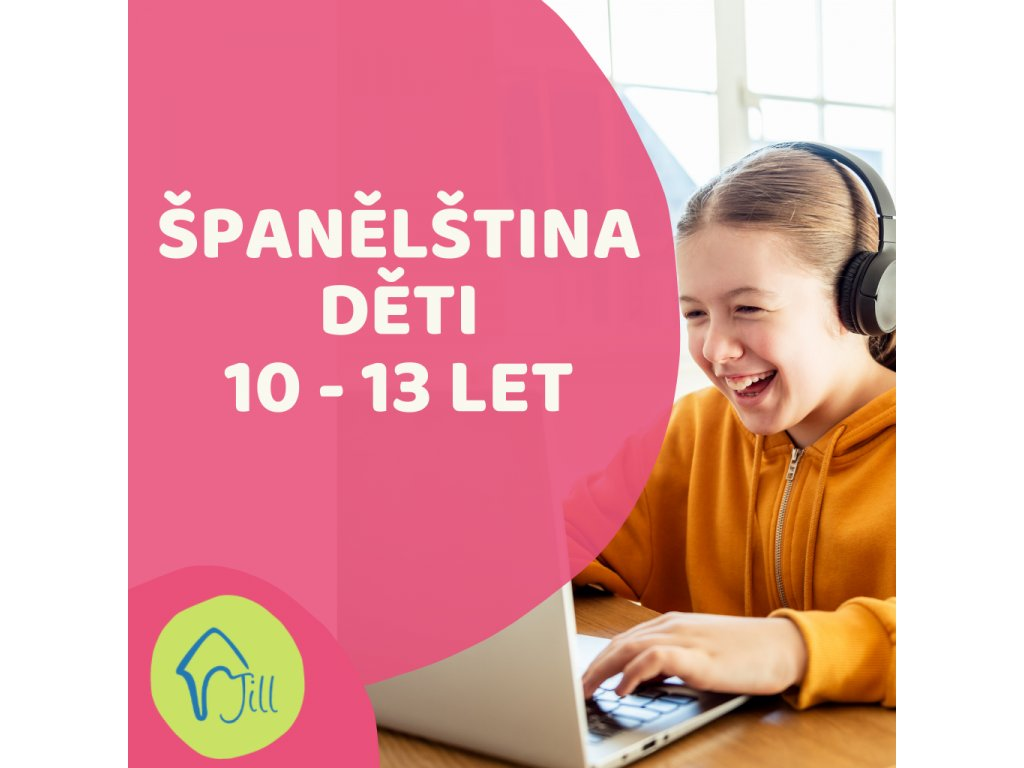 On-line Španělština děti 10-13 let odpolední