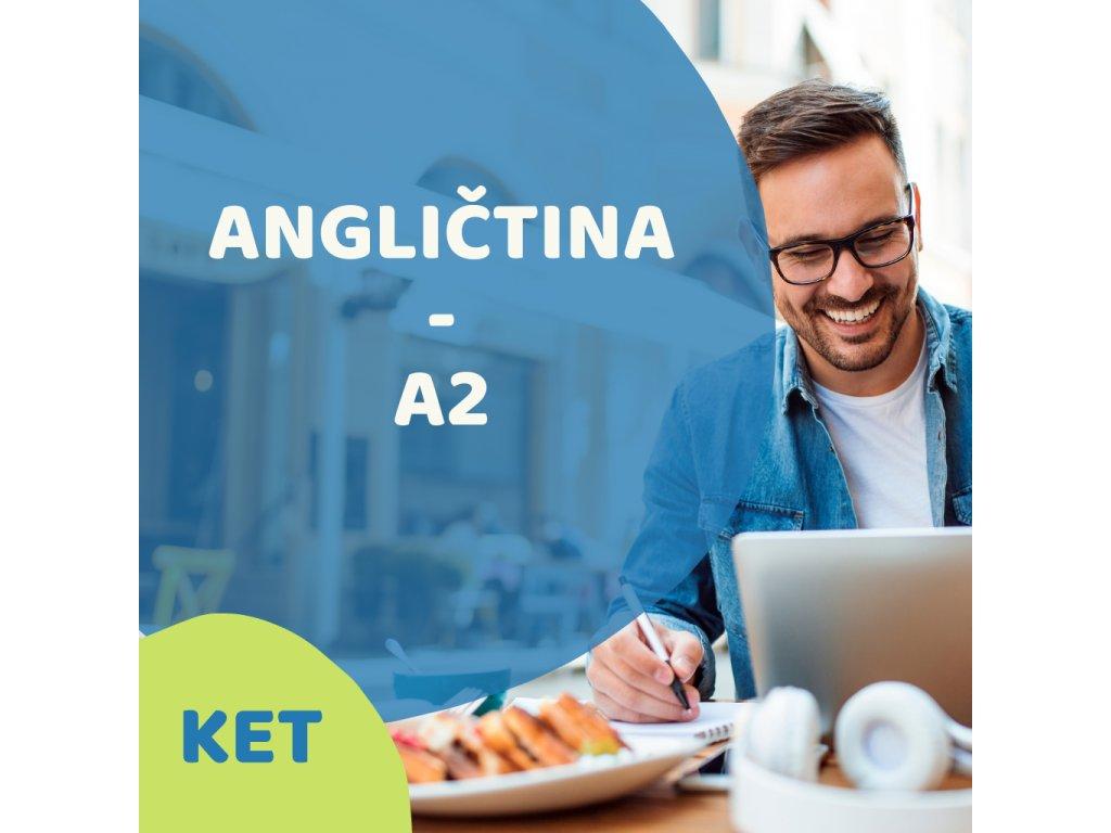 On-line Angličtina Mírně pokročilí A2 (KET) večerní