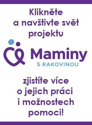 Proklikem můžete navštívit web Mamin s rakovinou