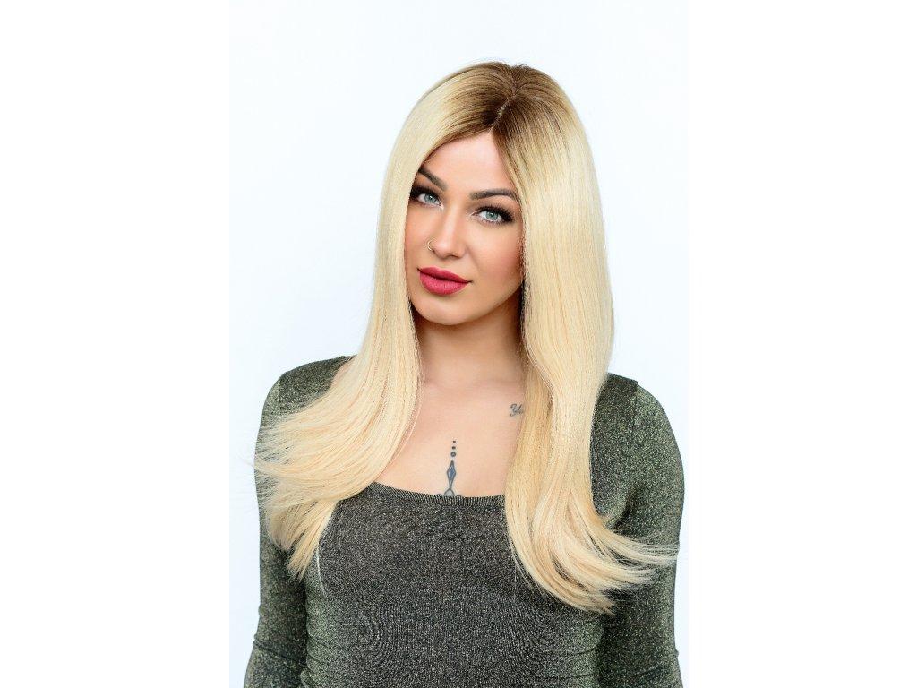 FLORA LONG HUMA HAIR MONO