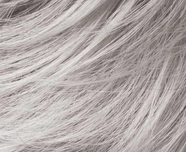 paruka Side ** Barva: silvergrey mix
