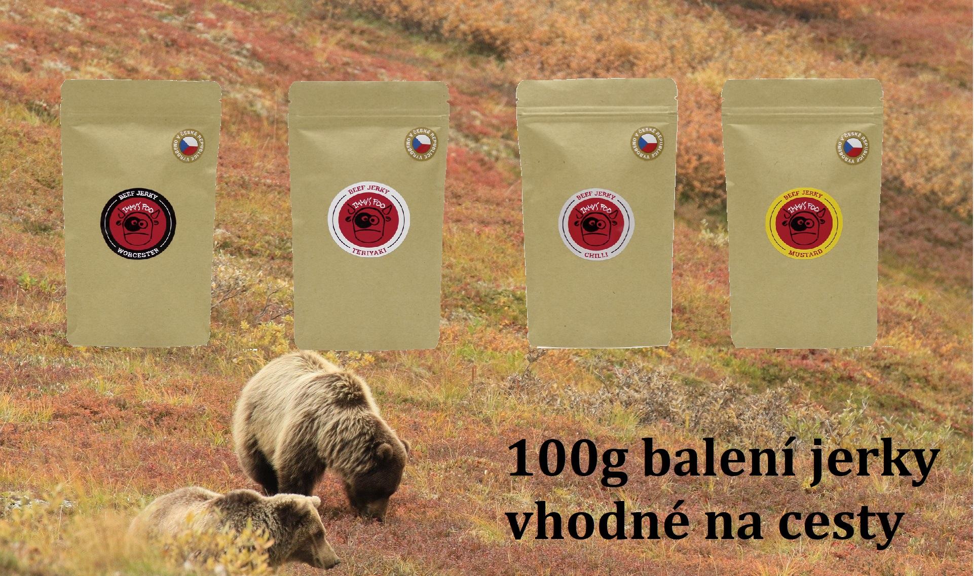 100g balení jerky